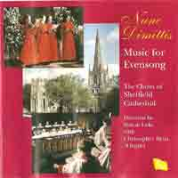 1997 Evensong from  Sheffield – Sheffield  Cathedral Choir - Regent