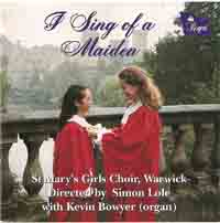 1994 I Sing of a maiden –  St Mary's Warwick Girls  Choir - Regent